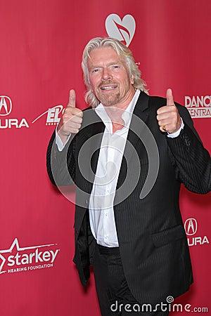 Richard Branson Editorial Photography