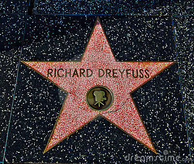 Richard Dreyfuss Editorial Photography