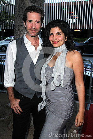 Richard Gunn, Jenna Mattison at the World Premiere of  Editorial Photo
