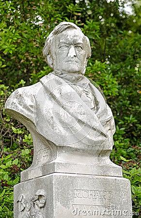 Richard Wagner bust, Venice
