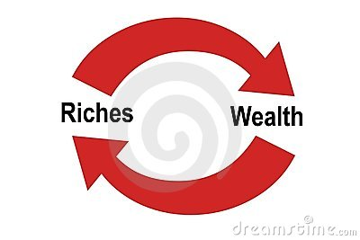 Riches Vs. Wealth