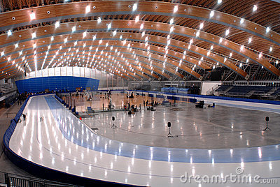 Richmond Olympic Oval Editorial Stock Image