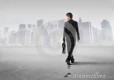 In Richtung zum Erfolg