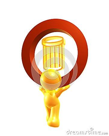 Ricicli il simbolo dell icona del recipiente