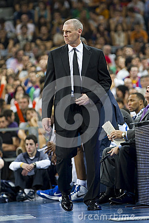 Rick Carlisle of Mavericks Editorial Photo