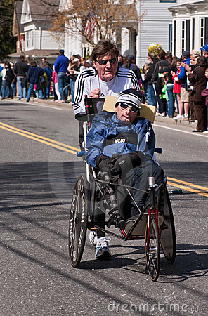 Rick and Dick Hoyt 2010 Editorial Stock Photo