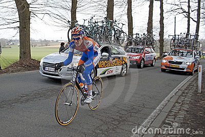 Rick Flens in Kuurne - Brussel - Kuurne Editorial Image
