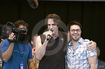Rick Springfield and Danny Gokey Editorial Stock Image