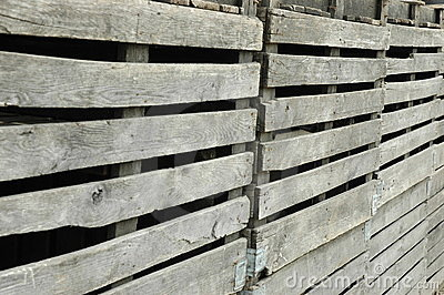Rickety Wooden Fencing