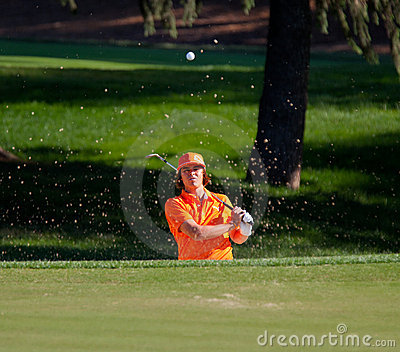 Rickie Fowler at the 2011 US Open Editorial Stock Image