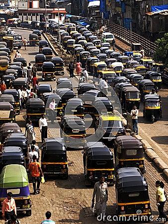 Free Rickshaw In Mumbai Royalty Free Stock Photos - 28116898