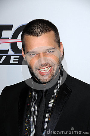 Ricky Martin,Clive Davis Editorial Photography