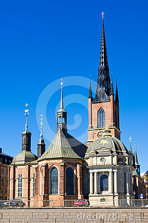 Riddarholmen Church. Stockholm, Sweden