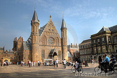 Ridderzaal in Binnenhof, The Hague, Netherlands Editorial Photo