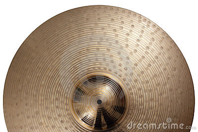Ride cymbal background