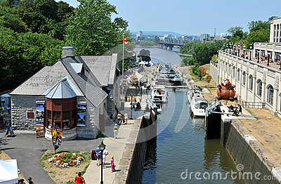 Rideau Canal Festival Editorial Stock Photo