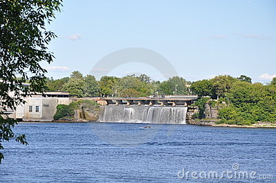Rideau Falls in Toronto