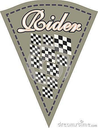 Rider patch