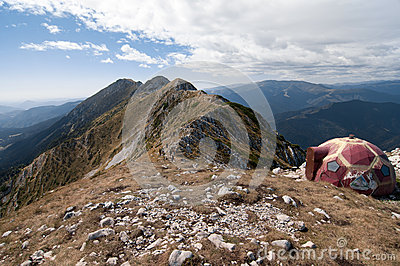 On the ridge of King s Stone Mountain
