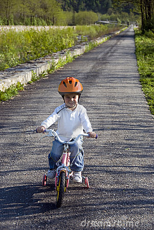 Free Riding Bike In A Park Stock Photo - 9137300