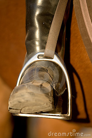 Riding Boot Royalty Free Stock Image - Image: 21042436