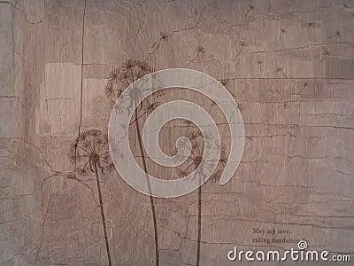 Riding dandelion