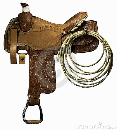 Riding saddle