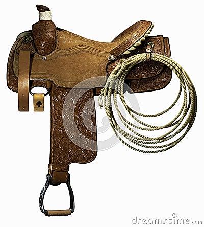 Free Riding Saddle Royalty Free Stock Photo - 14549505