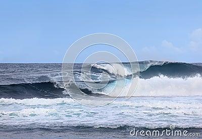 Riesige Ozeanwellen