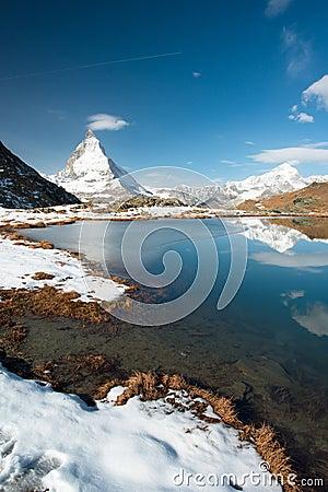 Riffelsee with Matterhorn
