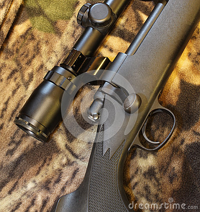 Rifle bolt and scope