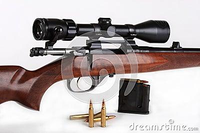 Rifle, calibre 223 Rem