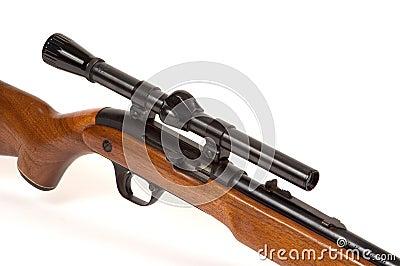 Rifle com espaço