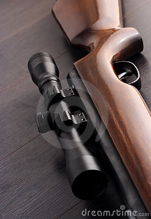 Free Rifle Scope Royalty Free Stock Images - 14946949