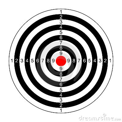 Rifle Target Vector Stock Images - Image: 10393974