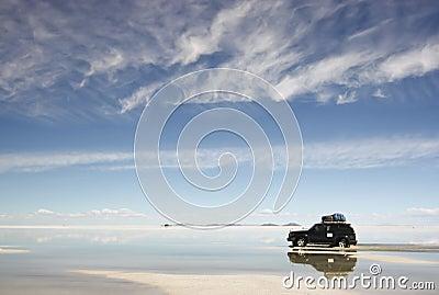 Riflessione del deserto
