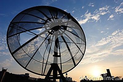 Riflettore parabolico