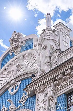 Riga Art Nouveau District 01
