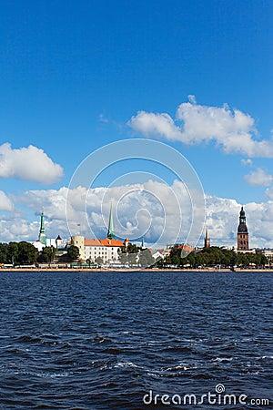 Riga, capital of Latvia.
