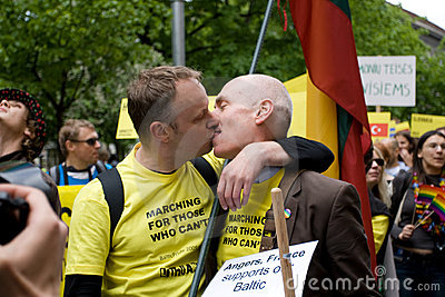 Riga gay pride Editorial Photography