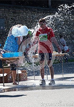 Riga International Marathon Editorial Image