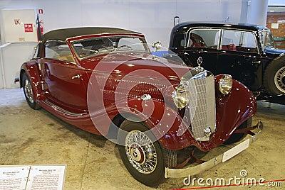 Riga motormuzejs Editorial Image