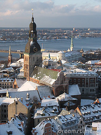 Free Riga Old Town Royalty Free Stock Photo - 3943905