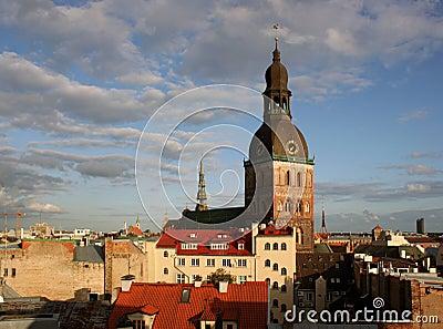 Riga panorama.