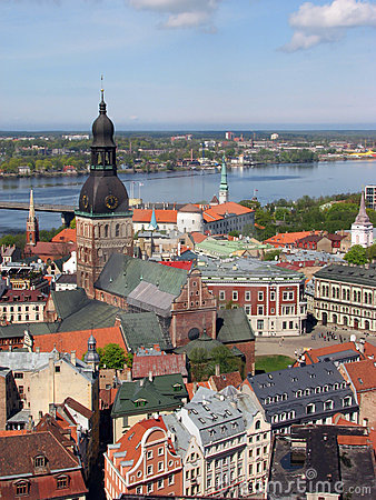 Free Riga Panorama Royalty Free Stock Photos - 2464558