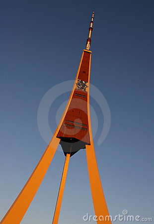 Free Riga Radio And TV Tower Stock Photo - 2644710