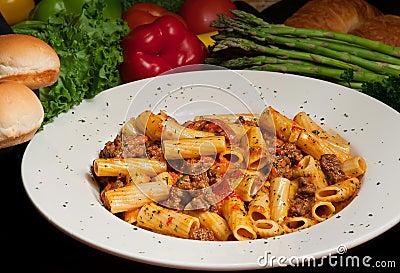 Rigatoni Pasta Royalty Free Stock Images - Image: 4295359