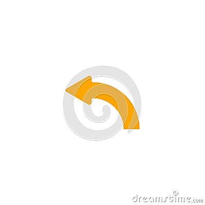Right Curve Arrow