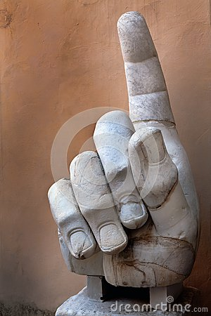 Right hand of the Colossus of Constantine