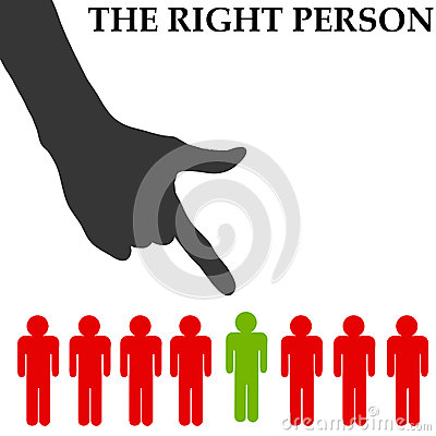 Right person